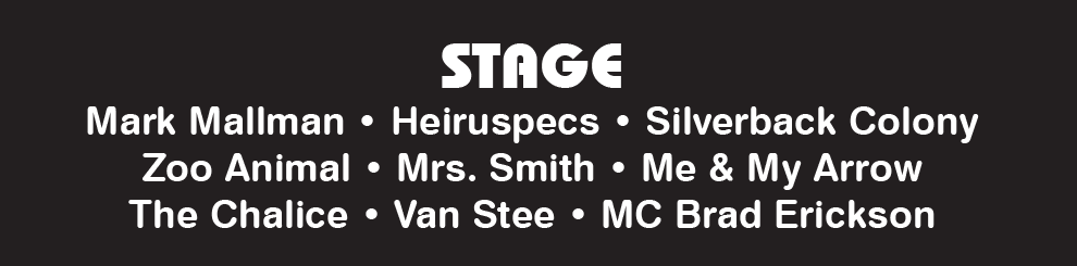 Stage lineup